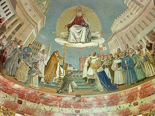 Kuppelbild Gott Vater